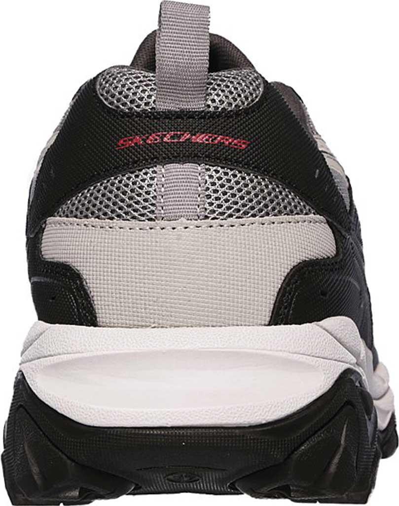 Men's Skechers After Burn M. Fit Slip On Walking Shoe, Gray/Black, large, image 4