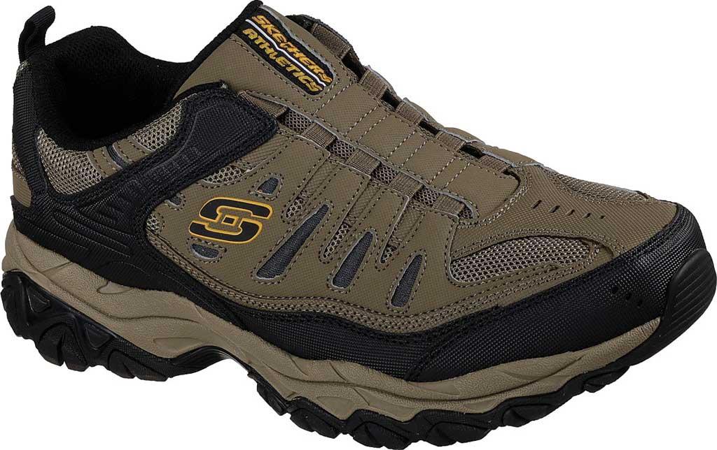 Men's Skechers After Burn M. Fit Slip On Walking Shoe, Pebble, large, image 1
