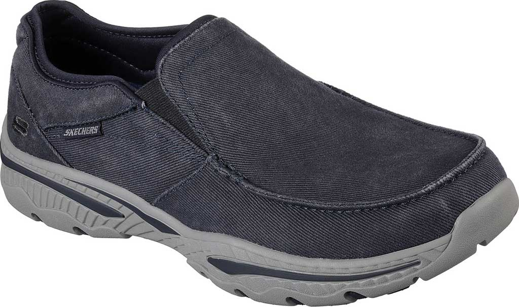 Men's Skechers Relaxed Fit Creston Moseco Loafer, Navy, large, image 1