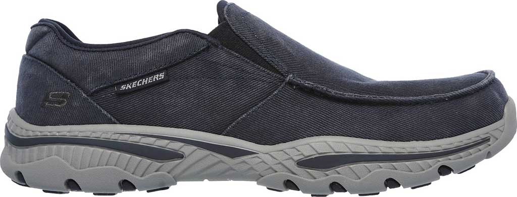 Men's Skechers Relaxed Fit Creston Moseco Loafer, Navy, large, image 2