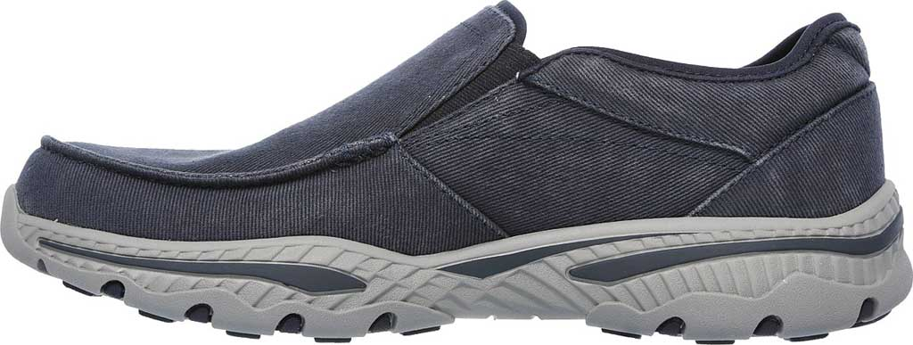 Men's Skechers Relaxed Fit Creston Moseco Loafer, Navy, large, image 3