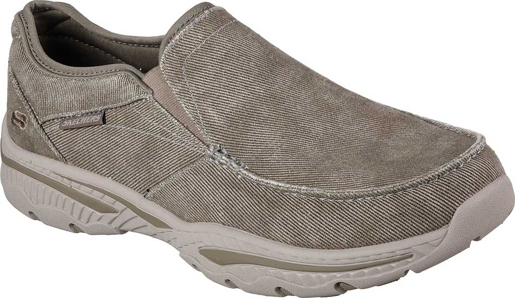 Men's Skechers Relaxed Fit Creston Moseco Loafer, Taupe, large, image 1