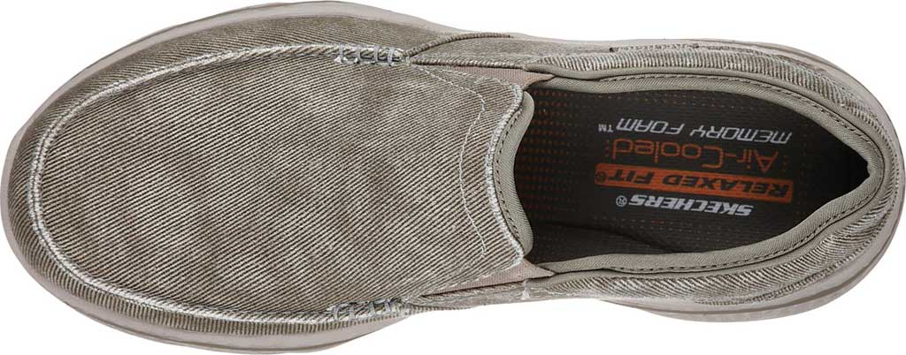 Men's Skechers Relaxed Fit Creston Moseco Loafer, Taupe, large, image 5