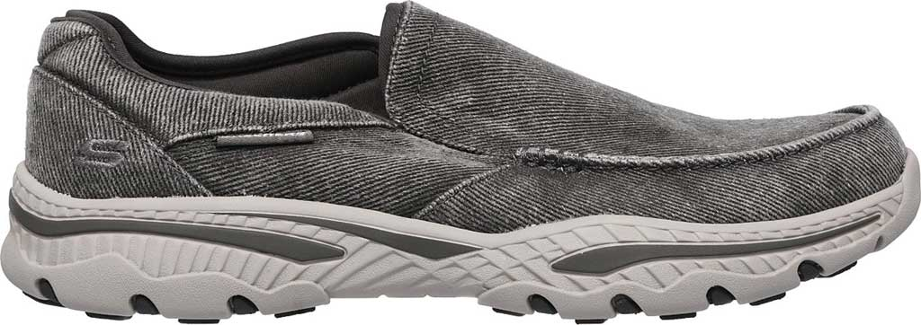 Men's Skechers Relaxed Fit Creston Moseco Loafer, Charcoal, large, image 2