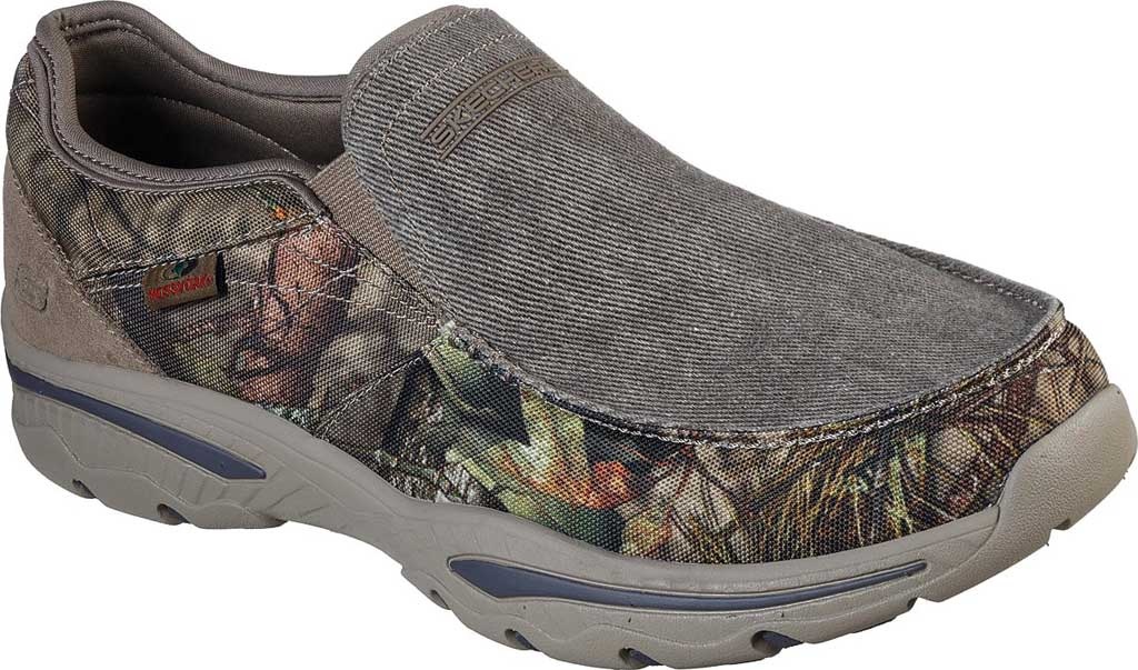 Men's Skechers Relaxed Fit Creston Moseco Loafer, Camouflage, large, image 1