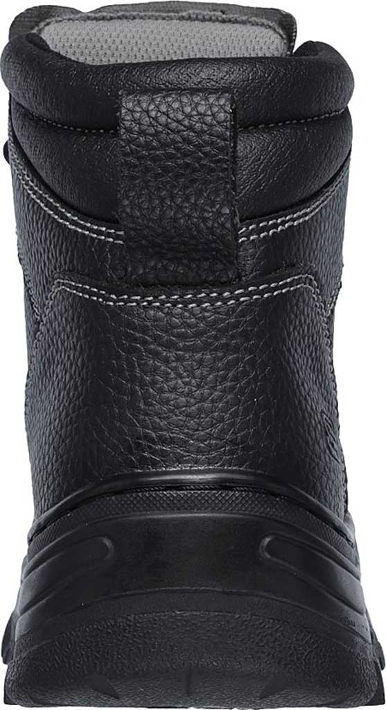 Men's Skechers Work Burgin Tarlac Steel Toe Boot, Black, large, image 4