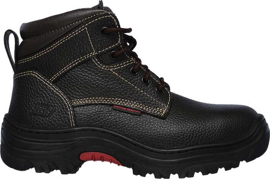 Men's Skechers Work Burgin Tarlac Steel Toe Boot, Brown, large, image 2