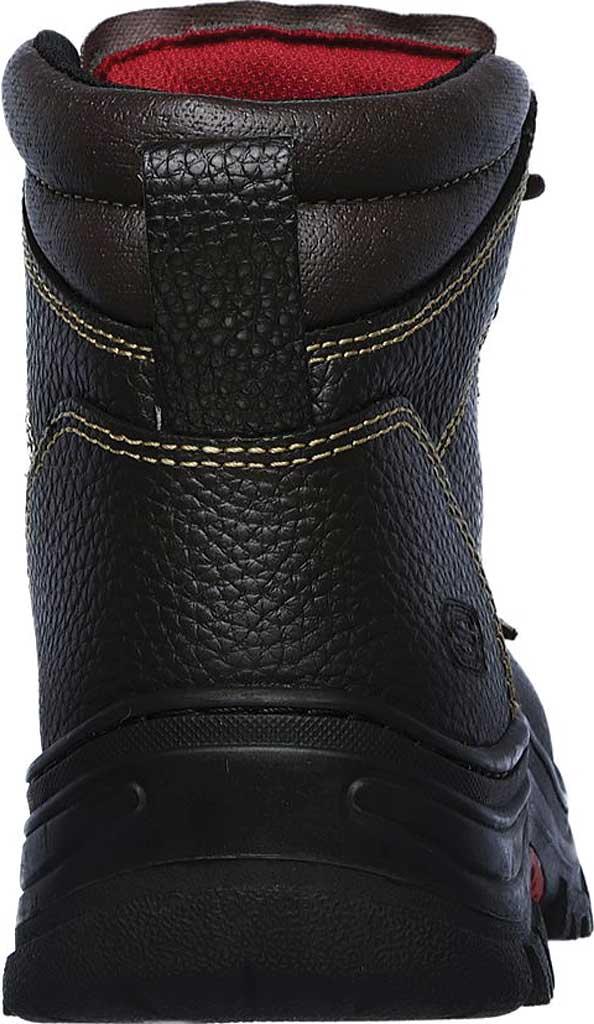 Men's Skechers Work Burgin Tarlac Steel Toe Boot, Brown, large, image 4
