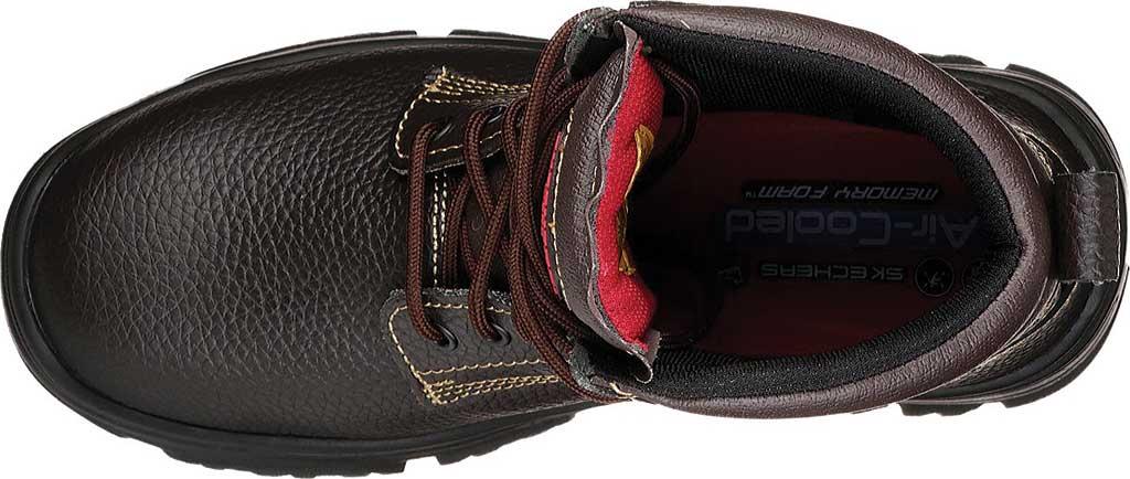 Men's Skechers Work Burgin Tarlac Steel Toe Boot, , large, image 5