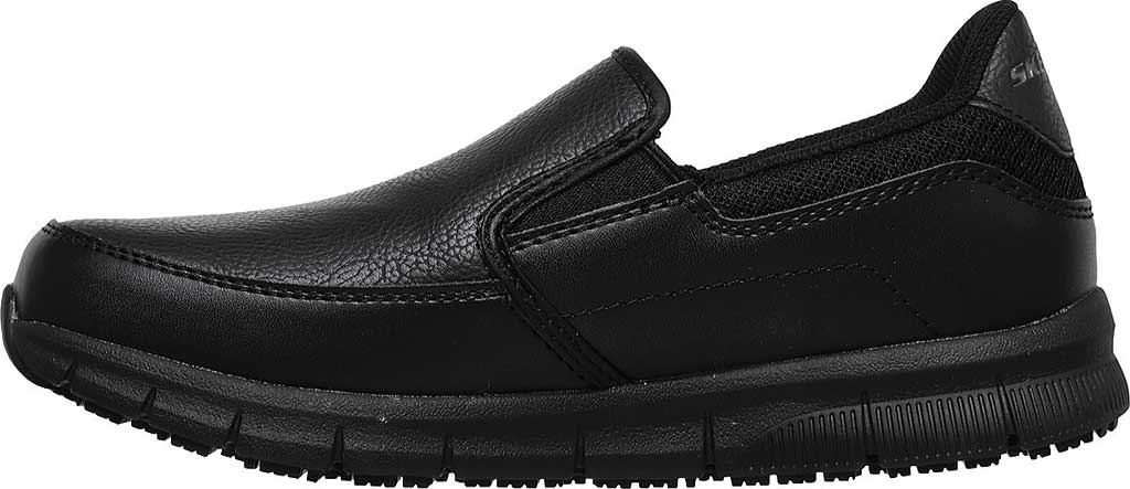 Women's Skechers Work Relaxed Fit Nampa Annod Slip Resistant Shoe, Black, large, image 3