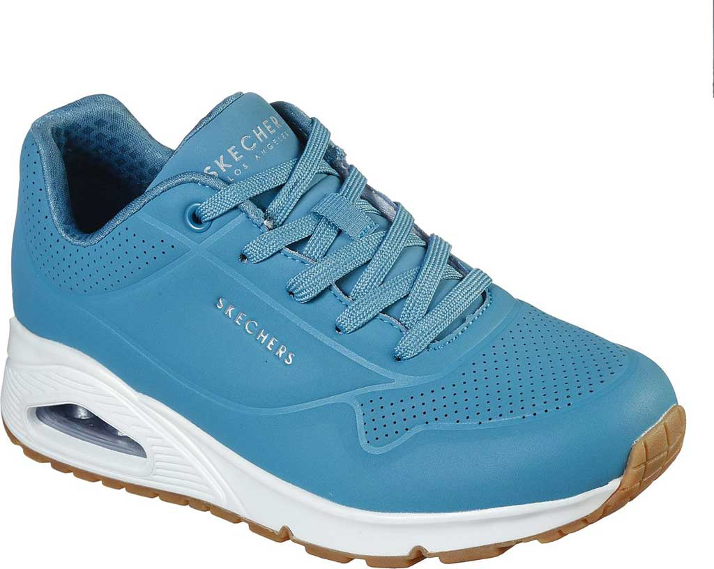 Women's Skechers Uno Stand on Air Sneaker, Slate, large, image 1