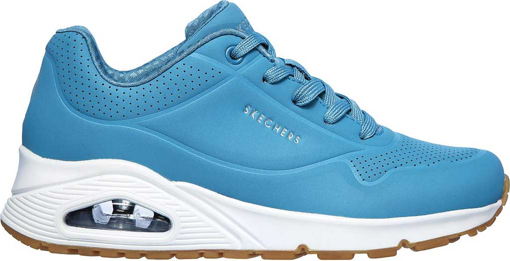 Women's Skechers Uno Stand on Air Sneaker, Slate, large, image 2