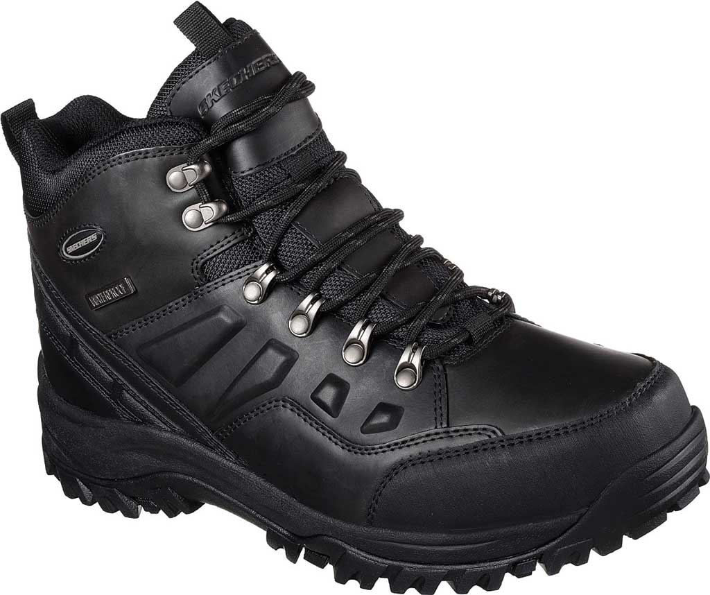 Men's Skechers Relaxed Fit Relment Traven Hiking Boot, , large, image 1
