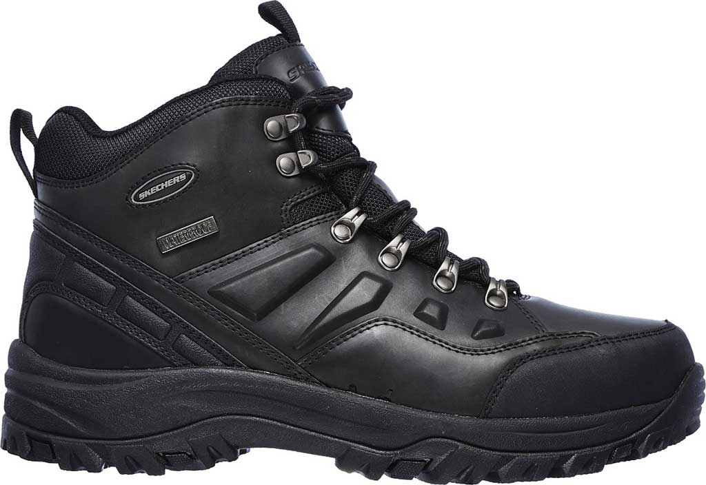 Men's Skechers Relaxed Fit Relment Traven Hiking Boot, , large, image 2