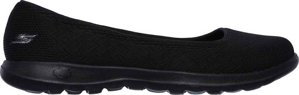 Women's Skechers GOwalk Lite Skimmer, Black/Black, large, image 2