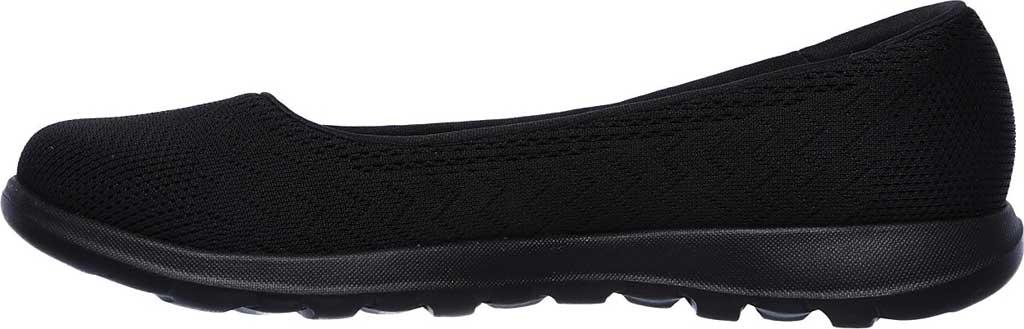 Women's Skechers GOwalk Lite Skimmer, Black/Black, large, image 3