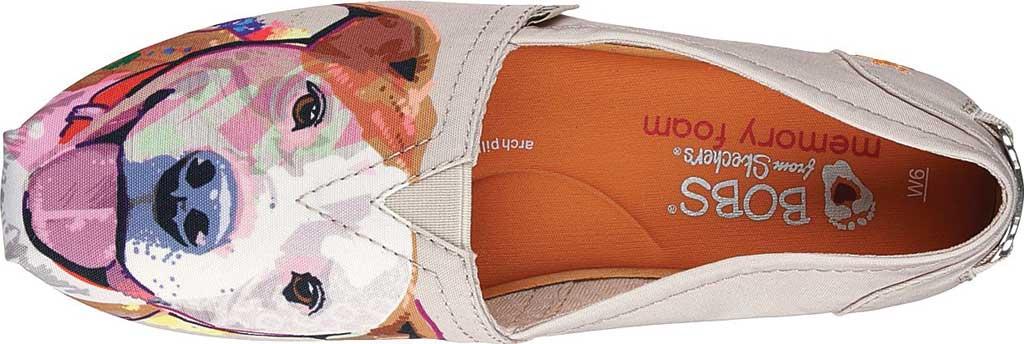 Women's Skechers BOBS Plush Paw-Fection Angel Alpargata, Natural, large, image 5