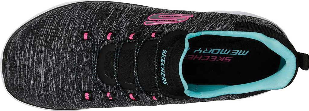 Women's Skechers Summits Quick Getaway Sneaker, Gray/Coral, large, image 5
