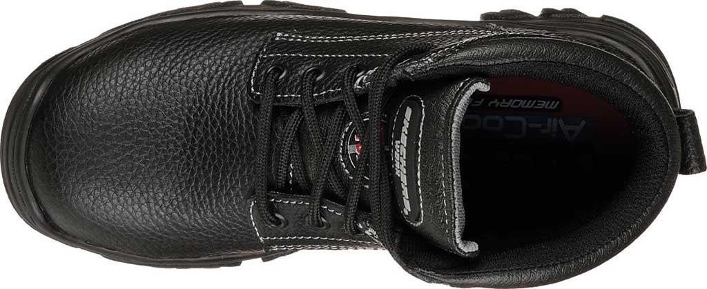 Women's Skechers Work Burgin Krabok Steel Toe Boot, Black, large, image 4