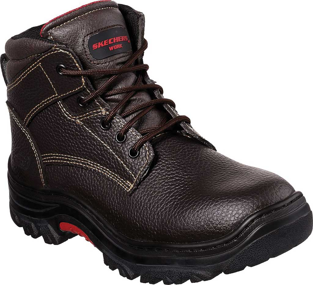 Men's Skechers Work Relaxed Fit Burgin Congaree Boot, , large, image 1