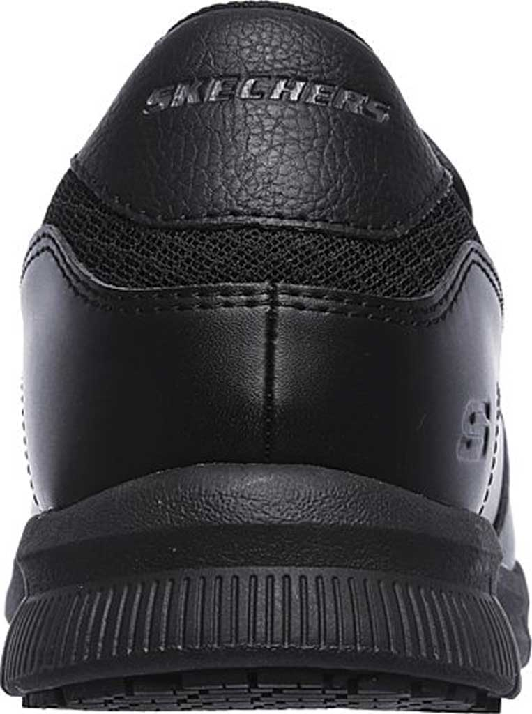 Men's Skechers Work Relaxed Fit Nampa Groton Slip Resistant Shoe, Black, large, image 4