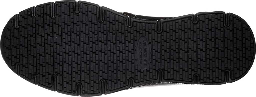 Men's Skechers Work Relaxed Fit Nampa Groton Slip Resistant Shoe, Black, large, image 6