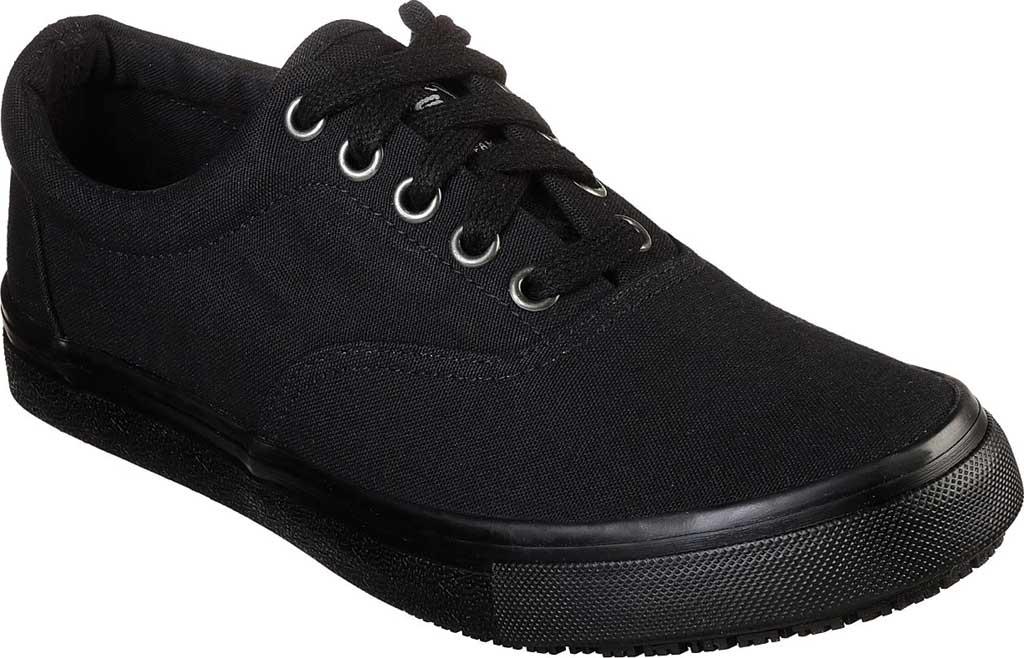 Women's Skechers Work Relaxed Fit Sudler Slip Resistant Shoe, Black, large, image 1