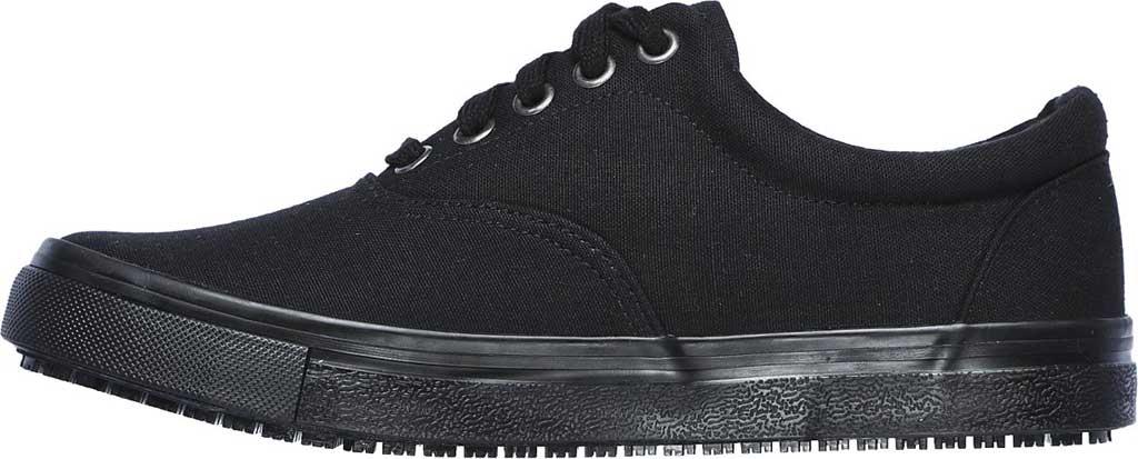 Women's Skechers Work Relaxed Fit Sudler Slip Resistant Shoe, Black, large, image 3