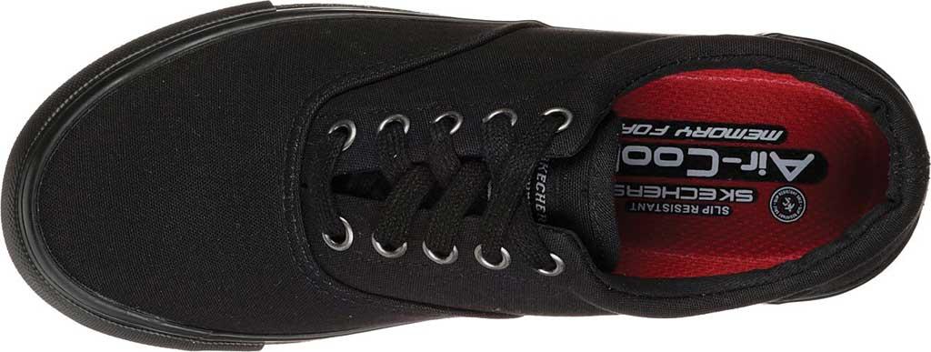 Women's Skechers Work Relaxed Fit Sudler Slip Resistant Shoe, Black, large, image 4
