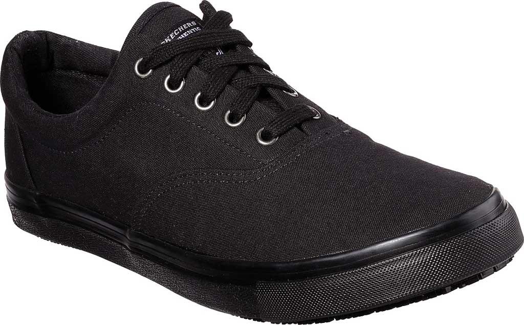 Men's Skechers Work Relaxed Fit Sudler Mabscott SR Sneaker, Black, large, image 1