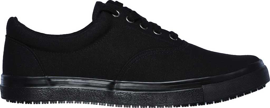 Men's Skechers Work Relaxed Fit Sudler Mabscott SR Sneaker, Black, large, image 2