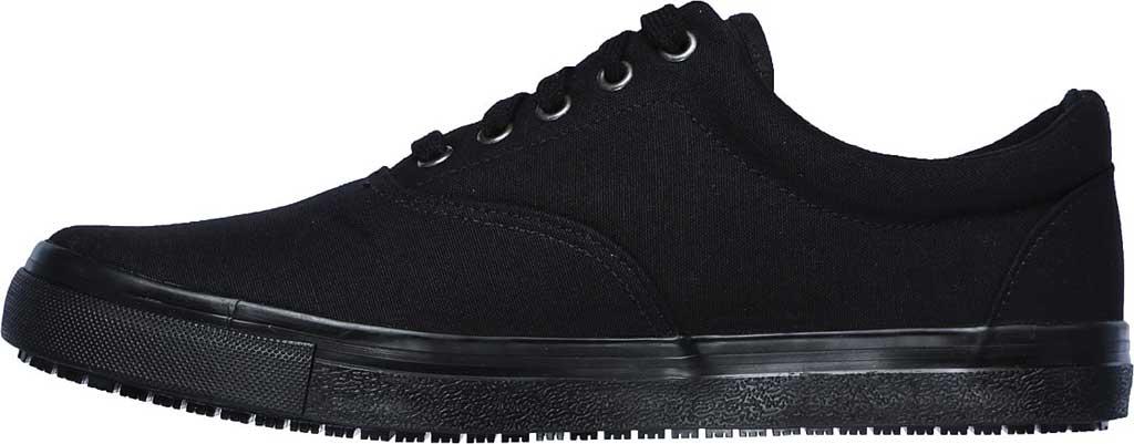 Men's Skechers Work Relaxed Fit Sudler Mabscott SR Sneaker, Black, large, image 3
