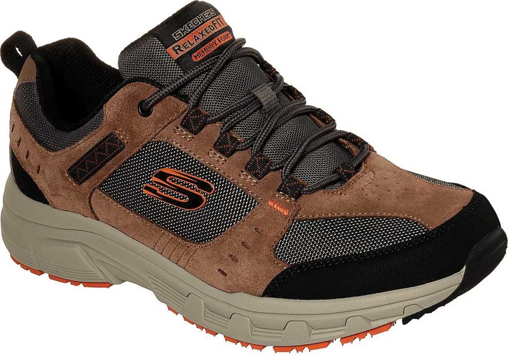 Men's Skechers Relaxed Fit Oak Canyon Sneaker, Brown/Black, large, image 1