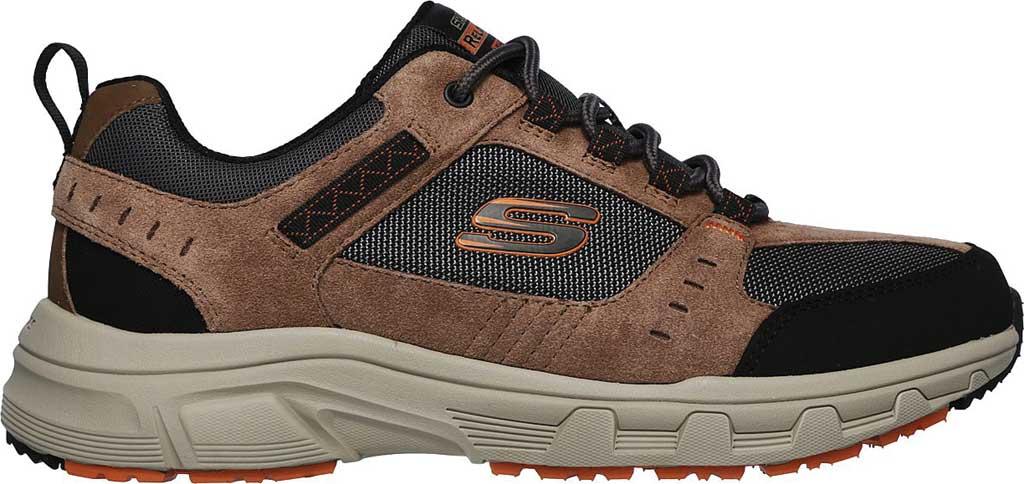 Men's Skechers Relaxed Fit Oak Canyon Sneaker, Brown/Black, large, image 2