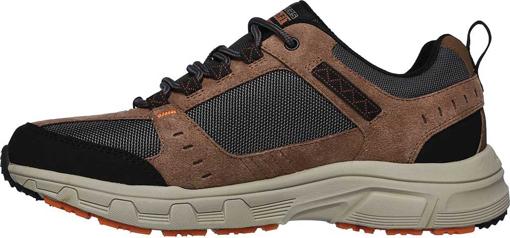Men's Skechers Relaxed Fit Oak Canyon Sneaker, Brown/Black, large, image 3