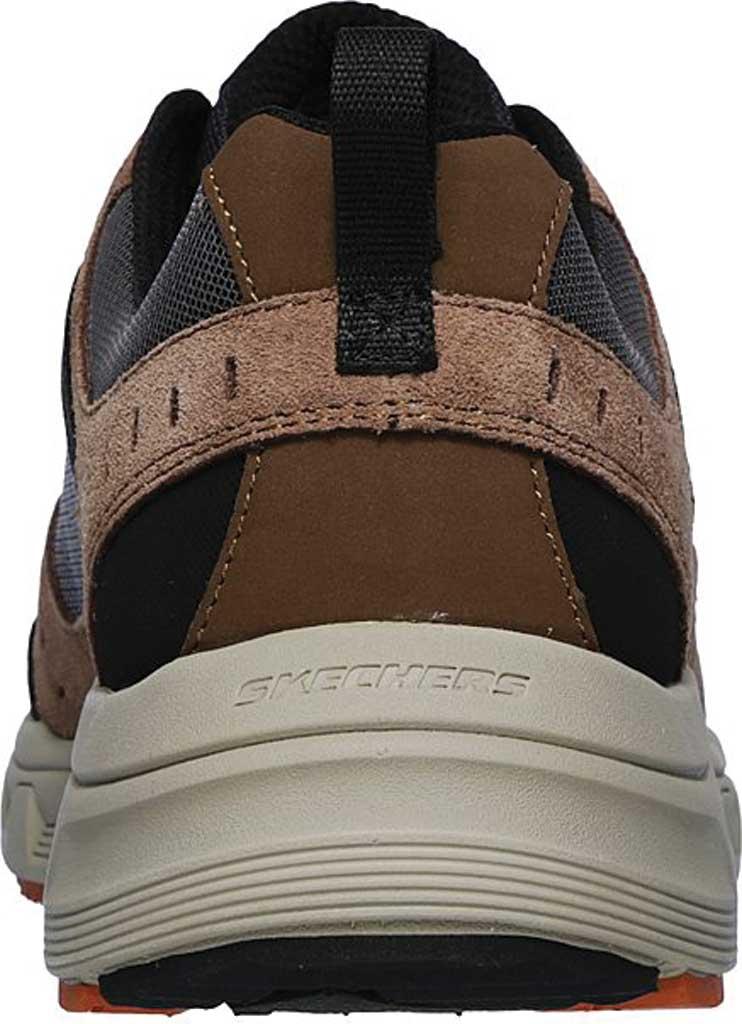 Men's Skechers Relaxed Fit Oak Canyon Sneaker, Brown/Black, large, image 4