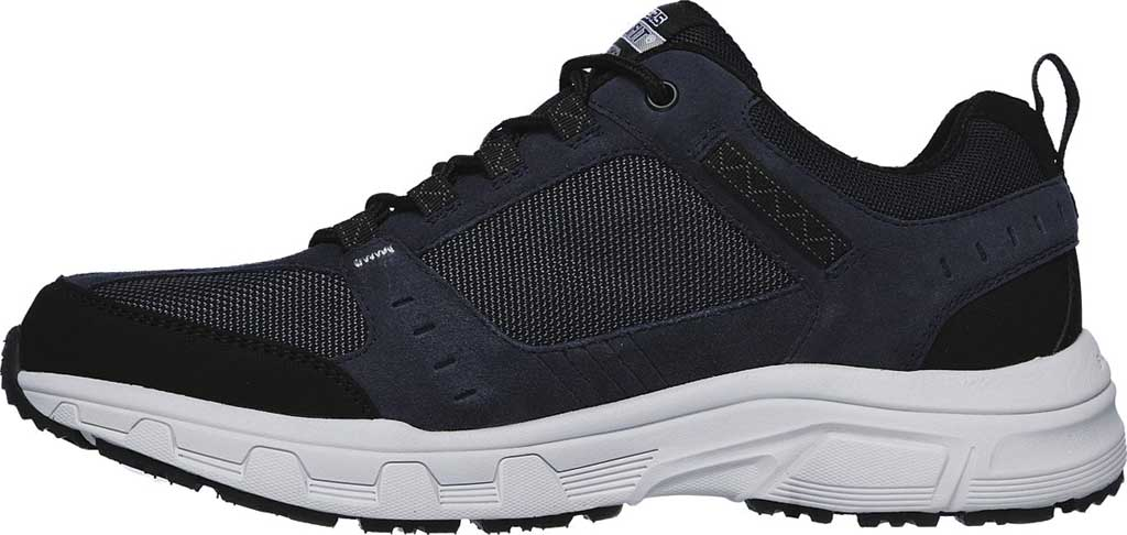 Men's Skechers Relaxed Fit Oak Canyon Sneaker, Navy/Black, large, image 3