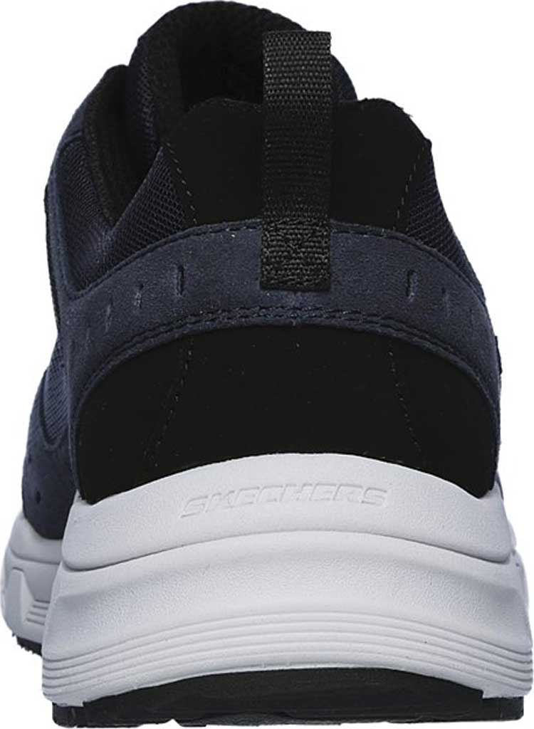 Men's Skechers Relaxed Fit Oak Canyon Sneaker, Navy/Black, large, image 4