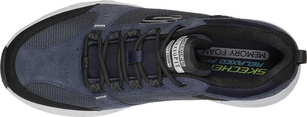 Men's Skechers Relaxed Fit Oak Canyon Sneaker, Navy/Black, large, image 5