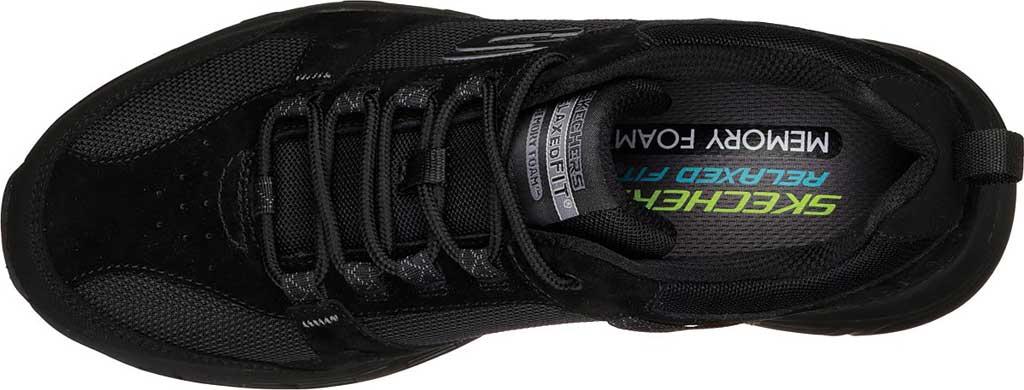 Men's Skechers Relaxed Fit Oak Canyon Sneaker, Black/Black, large, image 5