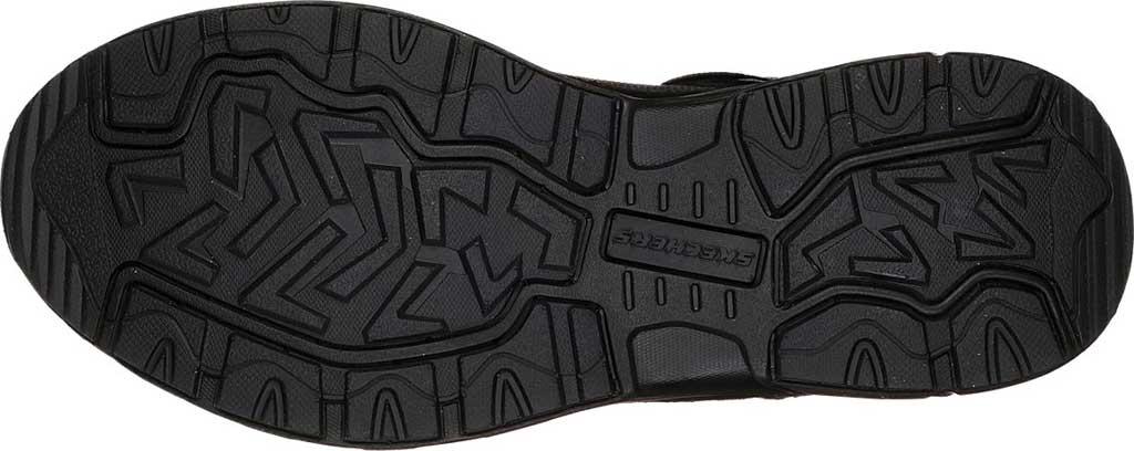 Men's Skechers Relaxed Fit Oak Canyon Sneaker, Black/Black, large, image 6