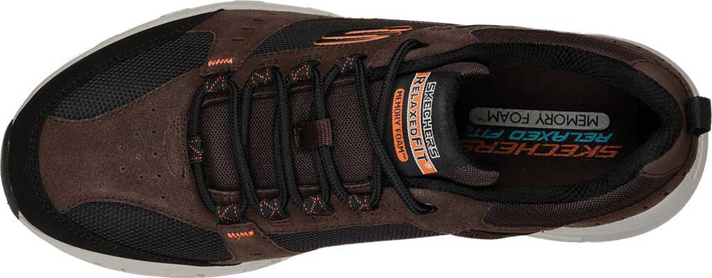 Men's Skechers Relaxed Fit Oak Canyon Sneaker, Chocolate/Black, large, image 5