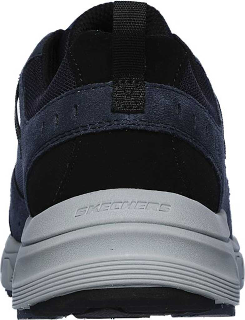Men's Skechers Relaxed Fit Oak Canyon Sneaker, Navy/Lime, large, image 4