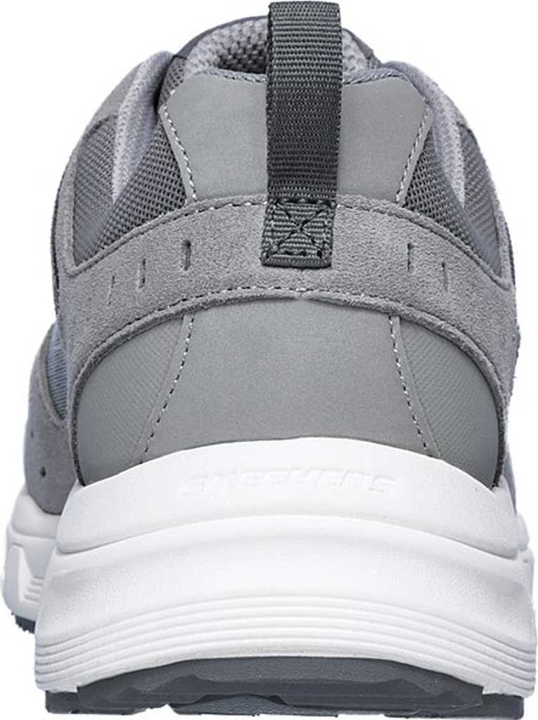 Men's Skechers Relaxed Fit Oak Canyon Sneaker, Gray/White, large, image 4