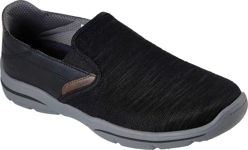 Men's Skechers Relaxed Fit Harper Merson Loafer, Black, large, image 1