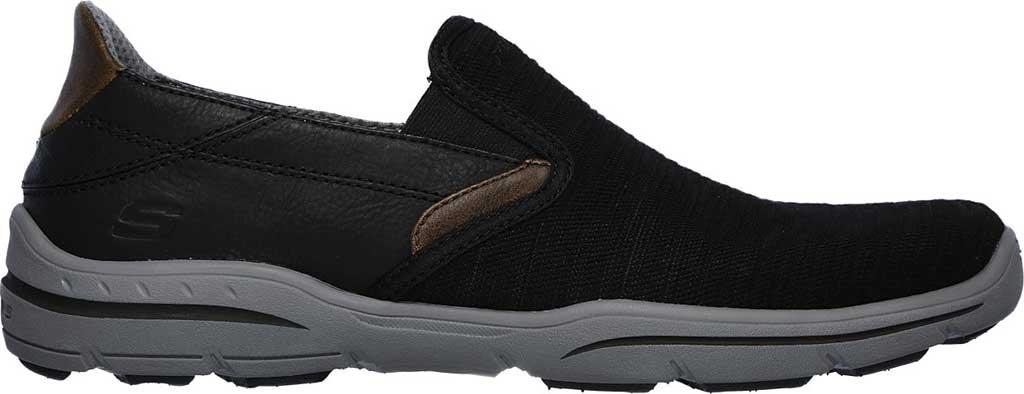 Men's Skechers Relaxed Fit Harper Merson Loafer, Black, large, image 2