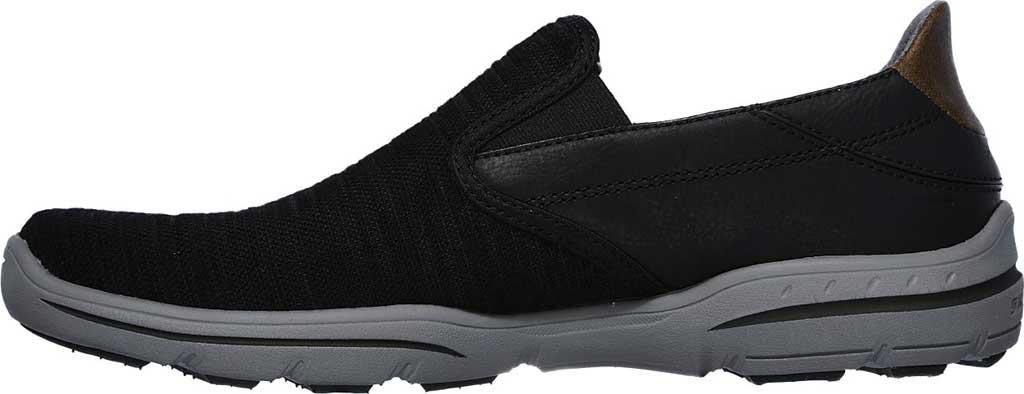 Men's Skechers Relaxed Fit Harper Merson Loafer, Black, large, image 3