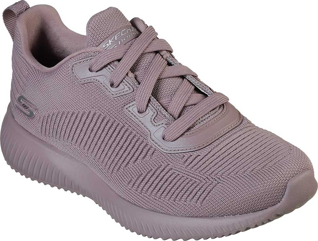 Women's Skechers BOBS Sport Squad Tough Talk Sneaker, Mauve, large, image 1