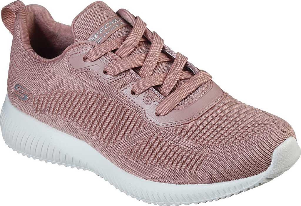 Women's Skechers BOBS Sport Squad Tough Talk Sneaker, Blush Pink, large, image 1