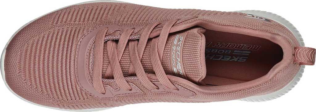 Women's Skechers BOBS Sport Squad Tough Talk Sneaker, Blush Pink, large, image 4